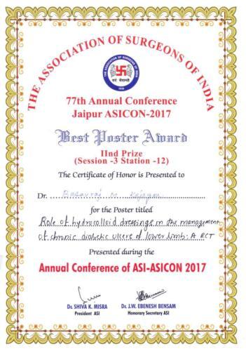 28-2017-Dr..BMKajagar Jaipur Award Poster