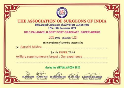 8.2020-Dr. Aarushi Mishra 3rd Prize Paper