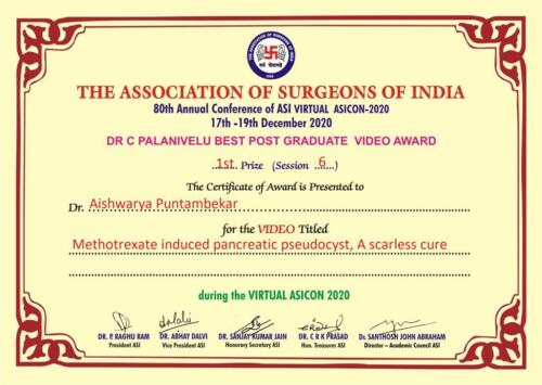 9.2020-Dr. Aishwarya P 1st Prize Video