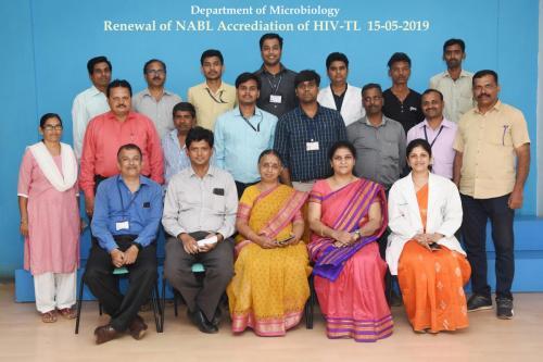15.05.2019 Renewal of NABL Accreditation of HIV-TL