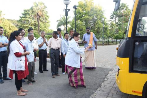 16.05.2019 Vehicle Pooja Ceremony – New College Bus Purchased