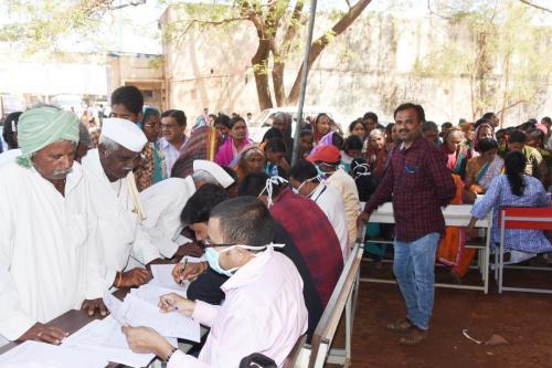 02.03.2019 Free Health Check-up Camp, Ramdurg