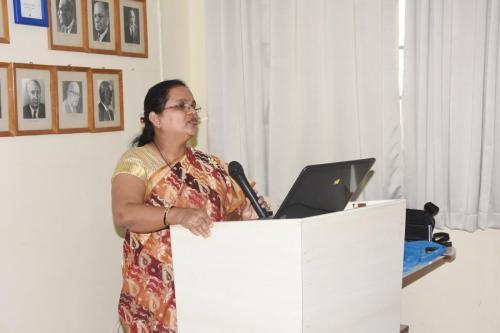 08.01.2019 Guest Lecture by Dr. Santosh U.P. Prof ENT, JJMC Davangere and Dr. Anajana Mohite Prof of ENT, D. Y. Patil University Kolhapur, Org. by Dept. of ENT