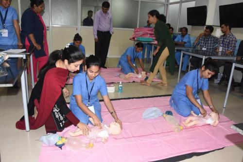 12.01.2019 BLS Workshop –org by Dept. of Pediatrics in Hospital premises