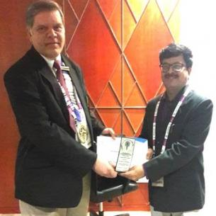 """13.01.2019 PRESTIGIOUS DR KU SHAH SENIOR CONSULTANT AWARD"""" BAGGED BY DR ANIL S HARUGOP, PROF & HOD, ENT & HNS DEPT.He got elected as MEMBER OF THE EDITORIAL BOARD of ENT and HNS NATIONAL BODY."""