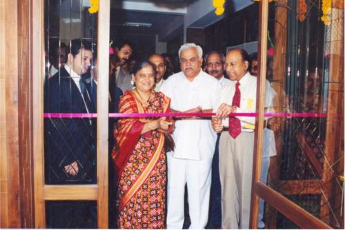 Mrs Sudha Murthy, Infosys Digital Library Opening-2001