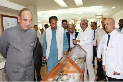 Sri. Gulam Nabi Azad, Hon Min for Health & Family welfare, Govt of India 2012