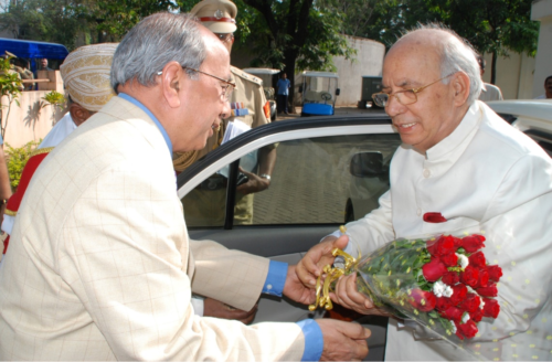 His Excellency, Hansaraj Bharadwaj, Governor of Karnataka 07 04 2012