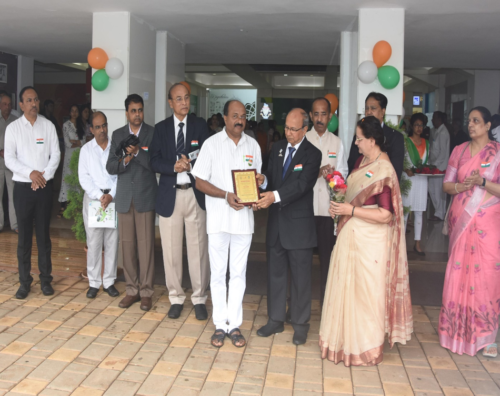 15.08.2019 On the occasion of Independence Day two employees were awarded Best Employee