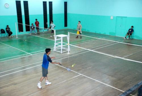 Badminton-Courts