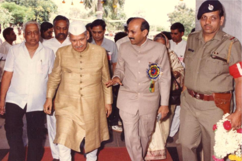 His Excellency, Shri Shankar Dayal Sharma, President of India-1992